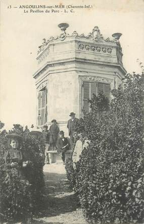 """/ CPA FRANCE 17 """"Angoulins sur Mer, le pavillon du parc"""""""