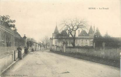 """/ CPA FRANCE 17 """"Burie, le treuil"""""""