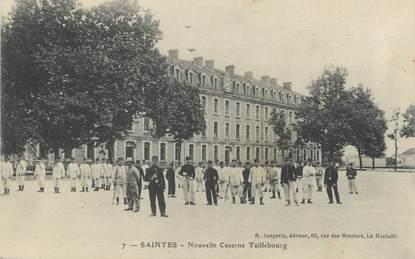 "/ CPA FRANCE 17 ""Saintes, nouvelle caserne Taillebourg"""