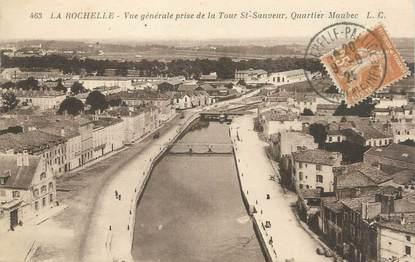 """/ CPA FRANCE 17 """"La Rochelle, vue générale prise de la tour Saint Sauveur"""""""