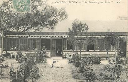"""/ CPA FRANCE 17 """"Chatelaillon, la nature pour tous """""""