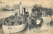 """17 Charente Maritime / CPA FRANCE 17 """"Ile de Ré, Saint Martin, départ de Forçats pour la Guyane"""" / BATEAU"""