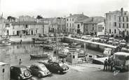 """17 Charente Maritime / CPSM FRANCE 17 """"La Flotte, le port"""" / AUTOMOBILE"""