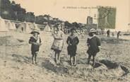 "17 Charente Maritime / CPA FRANCE 17 ""Fouras, plage"" / ENFANTS"