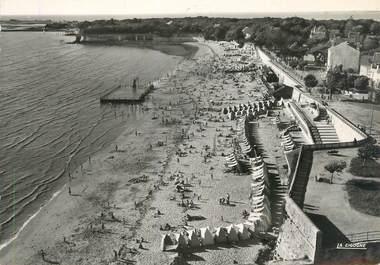 """/ CPSM FRANCE 17 """"Fouras, plage Ouest à marée basse"""""""