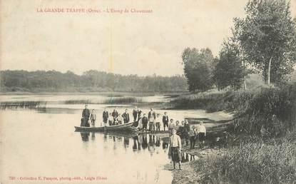 """/ CPA FRANCE 61 """"La Grande Trappe, l'étang de Chaumont """""""
