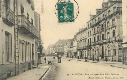 """/ CPA FRANCE 61 """"Alençon, rue principale de la ville"""""""