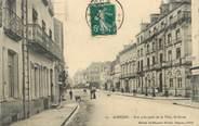 "61 Orne / CPA FRANCE 61 ""Alençon, rue principale de la ville"""