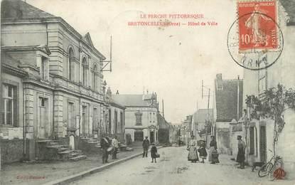 """/ CPA FRANCE 61 """"Bretoncelles, hôtel de ville"""""""