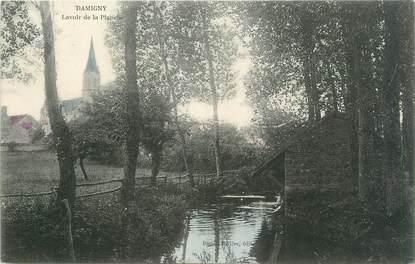"""/ CPA FRANCE 61 """"Damigny, lavoir de la planche"""""""