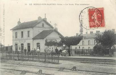 """/ CPA FRANCE 61 """"Le Mèle sur Sarthe, la gare"""""""