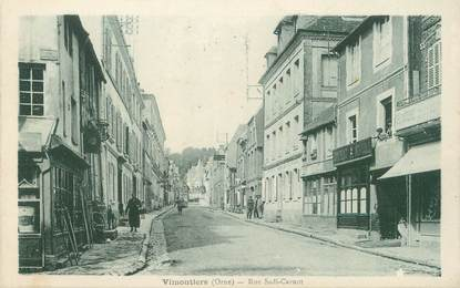 "/ CPA FRANCE 61 ""Vimoutiers, rue Sadi Carnot"""