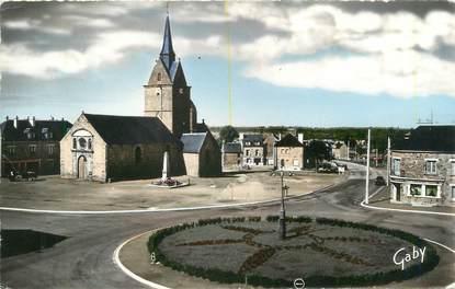 """/ CPSM FRANCE 61 """"Ranes, l'église et la place"""""""