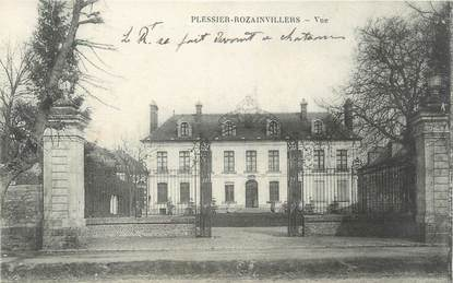 """/ CPA FRANCE 80 """"Plessier Rozainvillers, vue"""""""