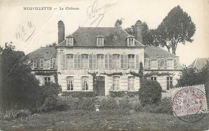 """/ CPA FRANCE 80 """"Neuvillette, le château"""""""