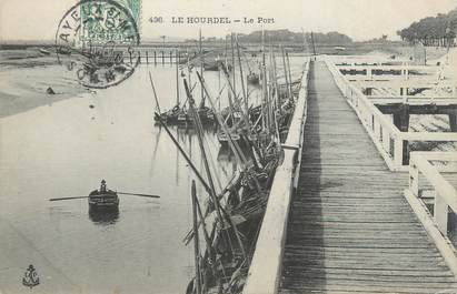 """/ CPA FRANCE 80 """"Le Hourdel, le port"""""""