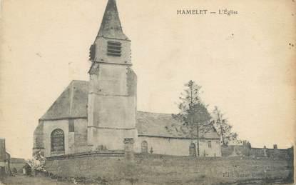 """/ CPA FRANCE 80 """"Hamelet, l'église"""""""