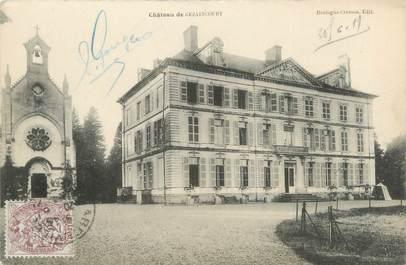 """/ CPA FRANCE 80 """"Château de Gezaincourt"""""""