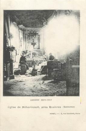 """/ CPA FRANCE 80 """"Eglise de Méharicourt près Rosières"""""""