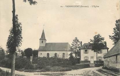 "/ CPA FRANCE 80 ""Vadencourt, l'église"""