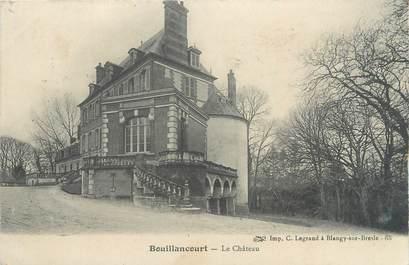 """/ CPA FRANCE 80 """"Bouillancourt, le château"""""""