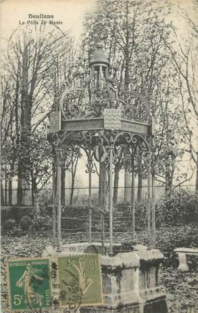 """/ CPA FRANCE 80 """"Doullens, le puits du musée"""""""