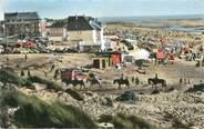 """80 Somme / CPSM FRANCE 80 """"Fort Mahon plage, vue générale de la plage"""""""