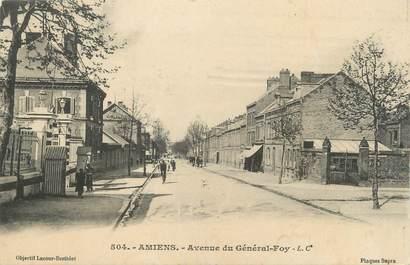 """/ CPA FRANCE 80 """"Amiens, av du Général Foy"""""""
