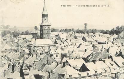 """/ CPA FRANCE 62 """"Bapaume, vue panoramique de la ville"""""""