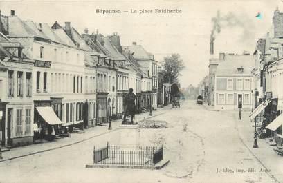 """/ CPA FRANCE 62 """"Bapaume, la place Faidherbe"""""""
