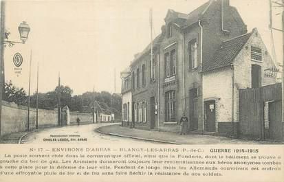 """/ CPA FRANCE 62 """"Blangy Les Arras, la poste"""""""