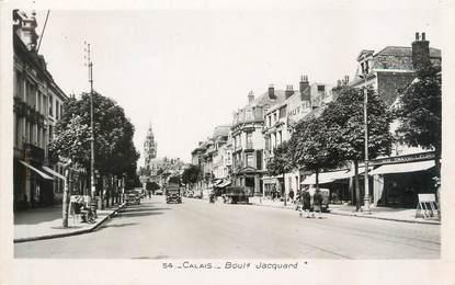 "/ CPSM FRANCE 62 ""Calais, boulevard Jacquard"""