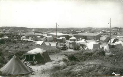 """/ CPSM FRANCE 62 """"Le Touquet Paris Plage, le terrain de Camping"""""""