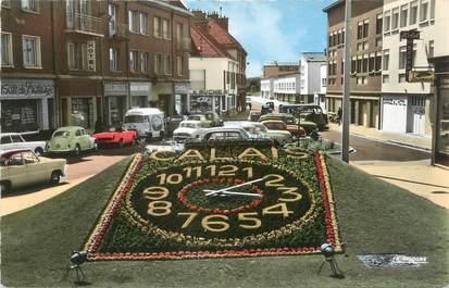 """/ CPSM FRANCE 62 """"Calais, l'horloge florale"""""""