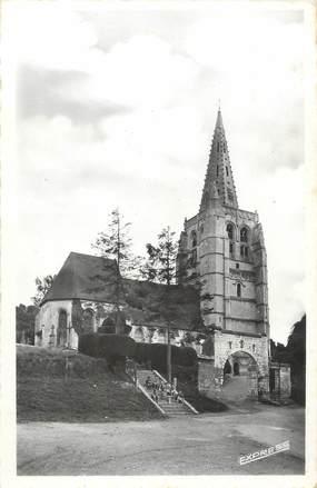 """/ CPSM FRANCE 62 """"Merck Saint Liévin, l'église"""""""