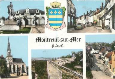 "/ CPSM FRANCE 62 ""Montreuil sur Mer"""