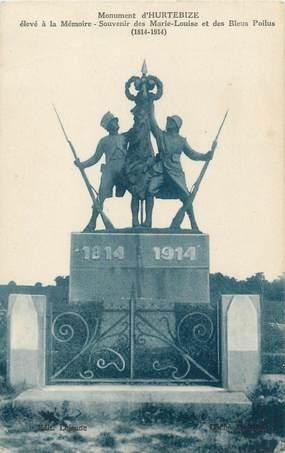 """/ CPA FRANCE 02 """"Monument d'Hurtebize"""" / MONUMENT AUX MORTS"""
