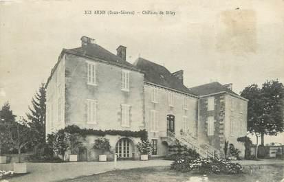 """/ CPA FRANCE 79 """"Ardin, château de Dilay"""""""