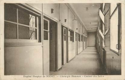 "/ CPA FRANCE 79 ""Niort, hopital hospice"""