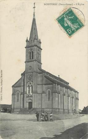 """/ CPA FRANCE 79 """"Noirterre, l'église"""""""