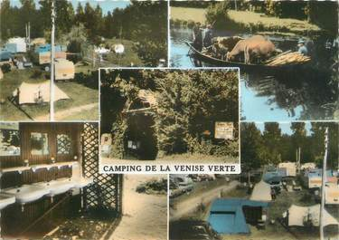 """/ CPSM FRANCE 79 """"Coulon, Camp de la Venise Verte"""""""
