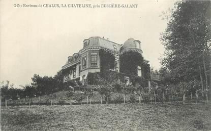 """CPA FRANCE 87 """" prés Bussière Galant, env de Chalus, la Chateline """""""
