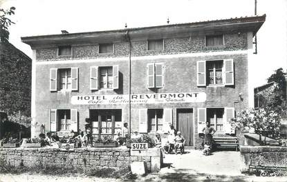 """CPSM FRANCE 01 """" Cuisiat, hôtel du Revermont """""""