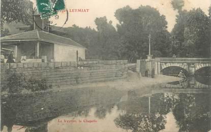 "CPA FRANCE 01 "" Leymiat, lavoir """