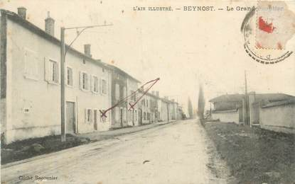 "CPA FRANCE 01 "" Beynost, le grand peuplier """