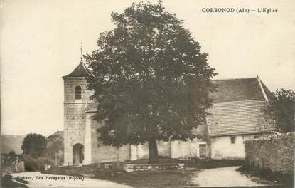 "CPA FRANCE 01 "" Corbonod église """