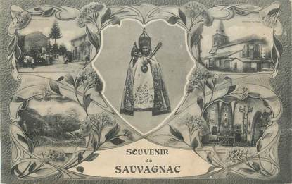 "CPA FRANCE 87 "" Sauvagnac """