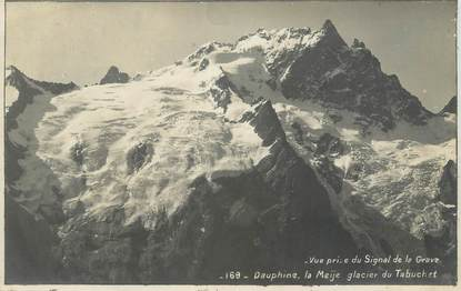 "CARTE PHOTO FRANCE 15 "" Dauphine, la Meije glacier du Tabuchet """