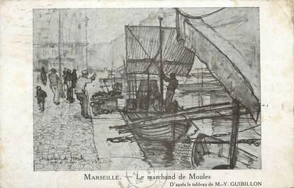 """CPA FRANCE 13 """" Marseille, le marchand de Moules """""""