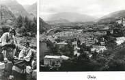 """09 Ariege CPSM FRANCE 09 """" Foix, couple Folklorique """""""